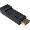 Tripp Lite DisplayPort to HDMI Adapter Converter DP to HDMI M/F - 1 x DisplayPort Male Digital Audio/Video - 1 x HDMI Female Digital Audio/Video - Black