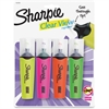 Sharpie Clear View Highlighters - Chisel Point Style - 4 / Set