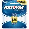 Rayovac Alkaline AAA Batteries - AAA - Alkaline - 2 / Pack