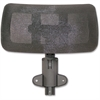 Lorell Hi-back Chair Mesh Headrest - Black - Nylon - 1 Each