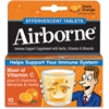 Advantus Airborne Flavored Effervescence Tablets - Zesty Orange - 10 / Box