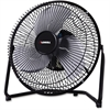 Lorell 2-Speed Heavy Metal Fan - 228.6 mm Diameter - 2 Speed - Adjustable Angle, Durable - Metal - Black