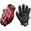 Mechanix Wear The Original All Purpose - 11 Size Number - X-Large Size - Spandex, Thermoplastic Rubber (TPR) Closure, Synthetic Leather, Lycra - Red, Black - Breathable, Durable, Comfortable, Hook & L