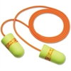 E-A-R NRR 29 Corded Foam Ear Plugs - Noise, Noise Reduction Rating Protection - Foam Earplug, Polyurethane, Vinyl Cord, Plastic - Multi - 200 / Box
