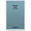 "Anglers Self-stick Crystal Clear Poly Envelopes - File - 5"" Width x 8"" Length - Self-sealing - Polypropylene - 50 / Pack - Crystal Clear"