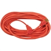 Compucessory Heavy Duty Extension Cord 50', Orange - 125 V DC Voltage Rating - 13 A Current Rating - Orange