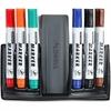 Lorell Dry-erase Marker Station - Polypropylene, Polystyrene - 7 / Pack - Assorted