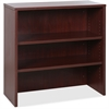 "Lorell Essentials Series Mahogany Stack-on Bookshelf - 35.5"" x 14.8"" x 36"" - 0 x Door(s) - Mahogany - Laminate, Mahogany - Assembly Required"