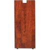 "Lorell Cherry Laminate Credenza Leg - Rectangular Base - 28"" Height x 11.75"" Width x 1"" Depth - Cherry, Laminated"