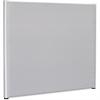 "Lorell Gray Fabric Panel - 72.50"" Width x 59.25"" Height - Gray"