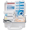"Pac-Kit Safety Eq. 10-person First Aid Kit - 10 x Individual(s) - 4.5"" Height x 7.5"" Width x 2.8"" Depth - Plastic Case - 1 / Kit"