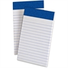 "TOPS Perforated Medium Weight Writing Pads - 50 Sheets - Printed - 15 lb Basis Weight - 3"" x 5"" - White Paper - 1Dozen"