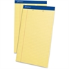 "Ampad Perforated Ruled Pads - 50 Sheets - Printed - Stapled - 15 lb Basis Weight - Legal 8.50"" x 14"" - Canary Yellow Paper - 1Dozen"