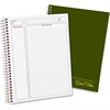 Ampad Gold Fibre Classic Project Planner - Action - White - Wire Bound - White - Classic Green - Notes Area, Heavyweight, Micro Perforated, Durable Cover, Sturdy Back, Easy Tear
