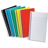 "Ampad Pocket Size Memo Notebook - 50 Sheets - Printed - Wire Bound 5"" x 3"" - White Paper - Assorted Cover - Pressboard Cover - 1Each"