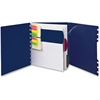"TOPS Versa Crossover Notebook - 60 Sheets - Printed - Spiral - 24 lb Basis Weight - Letter 8.50"" x 11"" - Navy Cover - Poly Cover - 1Each"