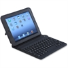 Compucessory Keyboard/Cover Case (Folio) for iPad Air - Black - Drop Resistant Interior, Scratch Resistant Interior - Silicone