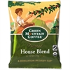 Green Mountain Coffee Roasters Fair Trade Organic House Blend Decaf Coffee - Decaffeinated - House Blend - Light - 40 oz - 50 CoffeeBag - 50 / Carton