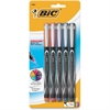 BIC Fashion Colors Intensity Marker Pen - 0.5 mm Point Size - Assorted - 5 / Pack