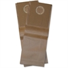 BigGreen BGUPRO14 Upright Disposable Vacuum Bags - 1.54 gal - Brown