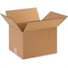 "BOX Industrial Shipping Boxes - External Dimensions: 10"" Width x 8"" Depth x 12"" Height - 200 lb - Corrugated - Kraft - 25 / Pack"