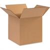 "BOX Multipurpose Cube Boxes - External Dimensions: 12"" Width x 12"" Depth x 12"" Height - 200 lb - Stackable - Corrugated - Kraft - 25 / Pack"