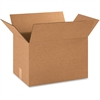 BOX Corrugated Shipping Boxes - 200 lb - Corrugated - Kraft - For Paper, Form, Catalog - 25 / Pack