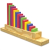 WonderFoam Sorting Staircase - Theme/Subject: Learning - Skill Learning: Sorting, Color Identification, Eye-hand Coordination, Fine Motor, Counting, Comprehension, Shape - 15 Pieces