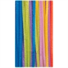 "ChenilleKraft Jumbo Chenille Neon Pipe Cleaners - 12"" x 0.3""236.2 mil - 100 / Pack - Neon - Polyester"