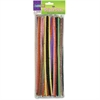 "ChenilleKraft Jumbo Chenille Neon Pipe Cleaners - 12"" x 0.3""236.2 mil - 100 / Pack - Assorted - Polyester"