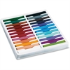 "ChenilleKraft 24-color Square Artist Pastels Set - 2.5"" Length - 0.4"" Diameter - Assorted - 24 / Set"