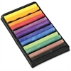 "ChenilleKraft 12-color Drawing Chalk Set - 3"" Length - Assorted - 12 / Set"