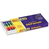 "ChenilleKraft 12-piece Oil Pastels Set - 2"" Length - 0.3"" Diameter - Assorted - 12 / Set"