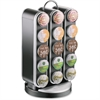 Mind Reader Vortex 30-Cup Coffee Carousel - 30 Compartment(s) - Black - 1Each