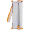"Fiskars Portable 12"" Paper Trimmer - Cuts 10Sheet - 12"" Cutting Length - 14"" Height x 12"" Width x 5.5"" Depth - Plastic Base, Stainless Steel Blade - White"