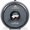 SofPull Mini Tissue Dispenser - Center Pull - Smoke - Durable, Lockable, Sturdy
