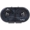 SofPull 2-roll Tissue Dispenser - Center Pull - Smoke - Durable, Lockable, Sturdy