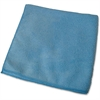 "Genuine Joe General Purpose Microfiber Cloth - Cloth - 16"" Width x 16"" Length - 1 Dozen - Blue"