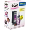 Gojo ADX-7 Dispenser Plum Foam Handwash Starter Kit - Manual - 23.7 fl oz (700 mL) - Chrome Black