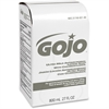 Gojo 800 ml Bag Refill Antibacterial Lotion Soap - 27.1 fl oz (800 mL) - Hand - White - Antimicrobial - 1 Each