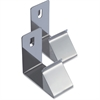 Lorell Cubicle Partition Hanger Set - for Garment, Bag - Metal - Silver - 2 / Set