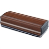 Lorell Magnetic Eraser - Magnetic - Mahogany - Aluminum - 1 Each
