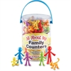 Learning Resources All About Me Family Counters Set - Learning Theme/Subject - Assorted - 72 / Pack