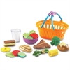 New Sprouts - Play Dinner Basket - Plastic