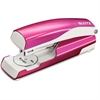 "Leitz 5504 Full-strip Stapler - 30, 40 Sheets Capacity - Full Strip - 5/16"" Staple Size - Pink"