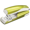 "Leitz 5504 Full-strip Stapler - 30, 40 Sheets Capacity - Full Strip - 5/16"" Staple Size - Green"