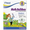 First Grade Math Builders Workbook Education Printed Book for Mathematics - Book - 96 Pages