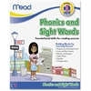Mead Phonics and Sight Words Workbook Grade 1 Education Printed Book - Book - 64 Pages