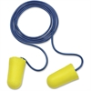 E-A-R Taperfit Corded Earplugs - Large Size - Noise Protection - Foam, Polyurethane, Vinyl Cord - Yellow - 200 / Box