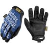 Mechanix Wear The Original All Purpose - 9 Size Number - Medium Size - Spandex, Thermoplastic Rubber (TPR) Closure, Synthetic Leather - Blue - Comfortable, Reinforced Thumb, Hook & Loop Closure, Machi